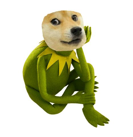 File:Doge Kermit.png