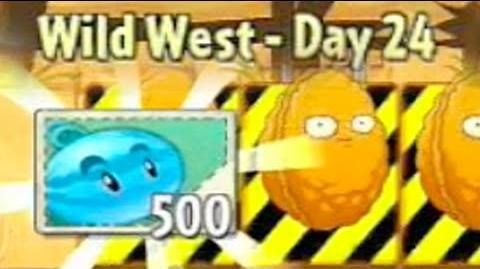 Wild West Day 24 - Plants vs Zombies 2