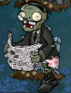 Newspaper zombie 1st degrade