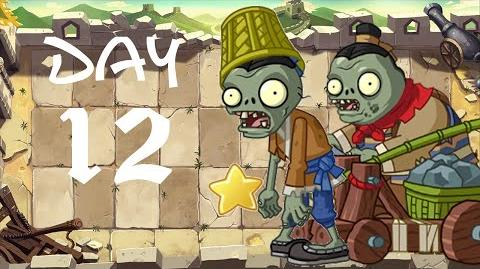 PvZ All Stars - Great Wall of China Day 12