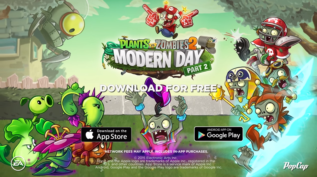 image modern day part 2 poster png plants vs zombies wiki fandom powered by wikia