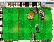 Zombie Yeti Wall-nut Bowling 2