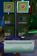 Health Upgrade Description