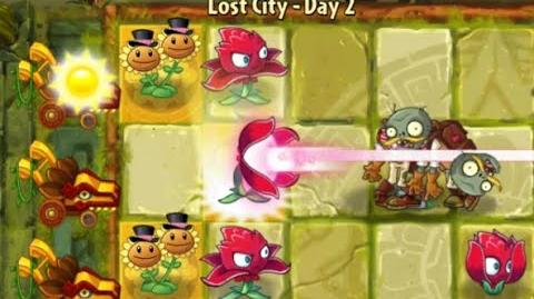 Plants vs Zombies 2 - Lost City Day 2