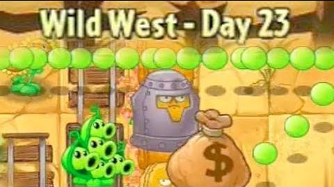Wild West Day 23 - Plants vs Zombies 2