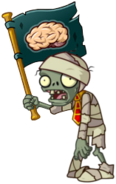 HD Mummy Flag Zombie