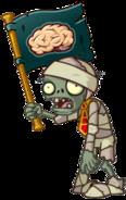 HD Mummy Flag Zombie
