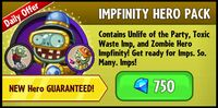 Impfinity Hero Pack