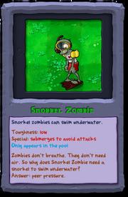 Almanac Card Snorkel Zombie