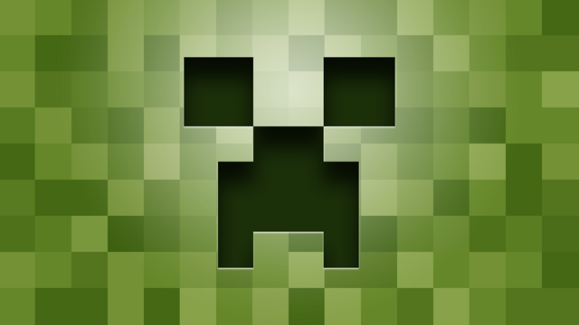 File:-Creeper-Minecraft-Fresh-New-Hd-Wallpaper--.png