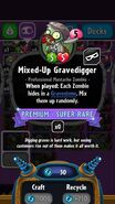 Mixed-Up Gravedigger statistics