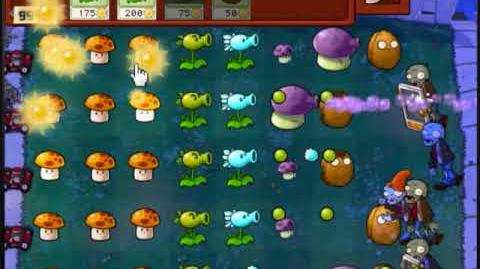 Plants vs Zombies Survival Endless Night (Online Version)