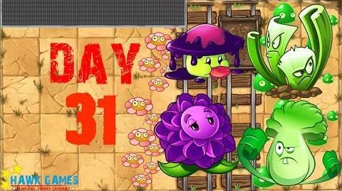 Plants vs Zombies 2 - Wild West - Day 31