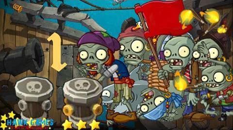 PvZ Online - Adventure Mode - Maritime Hegemony 1