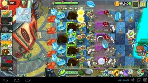 All Plants Super Power Tiles in Terror From Tomorrow Plants vs Zombies 2