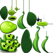 Oh my god they have five heads what's up with that, like do they think separately from one another, they're all a bunch of peas so why not