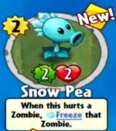 Receiving Snow Pea