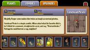 Conehead Pirate Almanac Entry