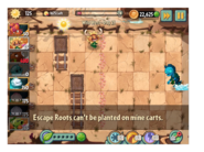 Escape Root message 1