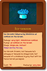 Ice-Shroom alamanac new