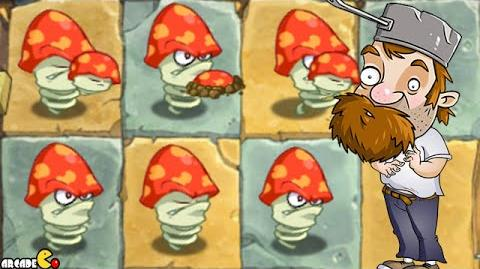 Plants Vs Zombies 2 Online NEW Update Digest Mushrooms Vs Lawn Mower Zombies!