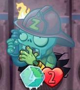 Frozen Firefighter