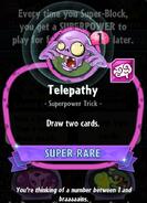 Telepathy statistics