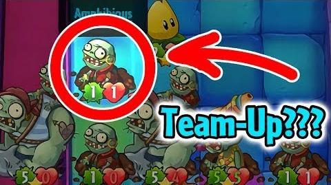 Plants vs Zombies Heroes - Zombie Team-Up Glitch with Fails in Daily Challenge-3