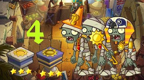 PvZ Online - Adventure Mode - Egyptian Market 4