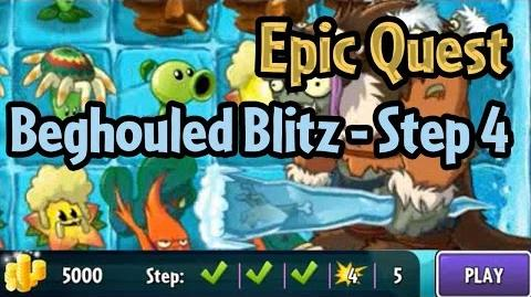 Plants vs Zombies 2 - Epic Quest Beghouled Blitz - Step 4