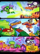 Zombopolis Apocalypse! middle comic strip