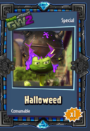 Halloweed Sticker