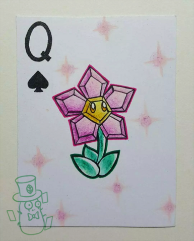 File:Plants of playing CARDS(2):Spade Q.png
