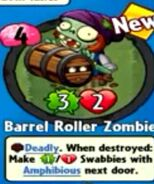 Receiving Barrel Roller Zombie