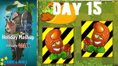 Plants vs. Zombies 2 - Holiday Mashup World by AB Fan 1000 - Day 15 (Save Our Seeds)