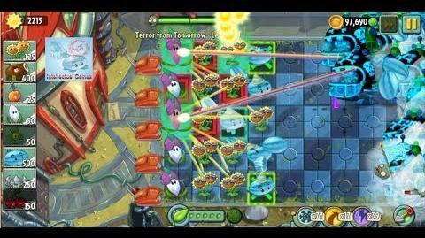 Terror From Tomorrow Level 100 No Premium Plants Plants vs Zombies 2 Endless GamePlay