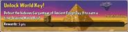 Unlock World Key! (Ancient Egypt)