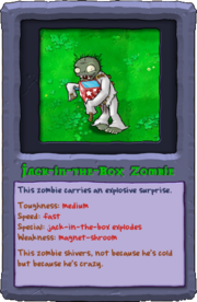 Almanac Card Jack-in-the-Box Zombie