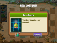 Getting Lava Guava 1st costume