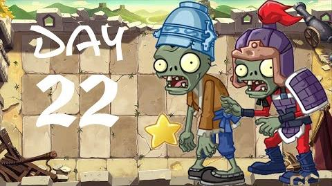 PvZ All Stars - Great Wall of China Day 22