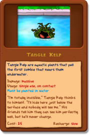 New Tanglekelp almanac