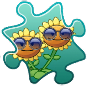 File:Twin Sunflower Costume Puzzle Piece.png