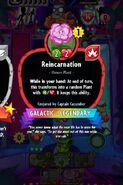 Reincarnation conjured by CC