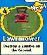 Receiving Lawnmower