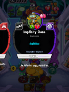 Impfinity Clone conjured by Imposter