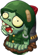 PvZH Foot Soldier Zombie HD
