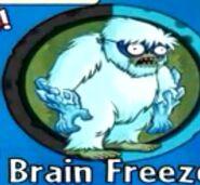 Receiving Brain Freeze