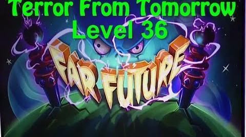 Terror From Tomorrow Level 36 Plants vs Zombies 2 Endless