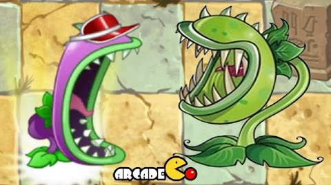 Plants Vs Zombies 2 Chomper Vs Chomper Vasebreaker Old New Version