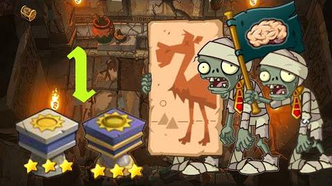 PvZ Online - Adventure Mode - Pyramid of Terror 1